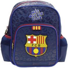 Ghiozdan FC Barcelona cu 2 compartimente 28 cm