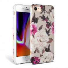 Carcasa TECH-PROTECT Floral iPhone 7/8/SE (2020) Beige