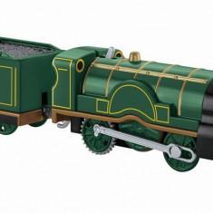 Locomotiva Emily cu vagon Thomas Trackmaster