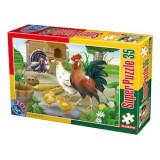 Cumpara ieftin Super Puzzle Pasari 35 Piese 60198, D-Toys