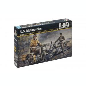1:35 U.S. MOTORCYCLES WWII 1:35