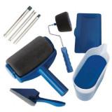 Cumpara ieftin Trafalet Paint Roller Profesional cu umplere + rezervor si recipient,brat extensibil, 2 accesorii pentru Colturi,insta, Oem