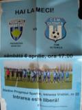 Afis fotbal, Progresul Spartac Bucuresti-CSM Oltenita aprilie 2019
