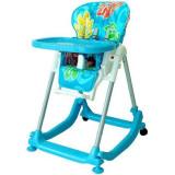 Scaun de masa multifunctional pentru copii Baby Mix DS-588AL, Albastru