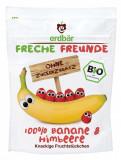 Banane si zmeura crocante bio 16g