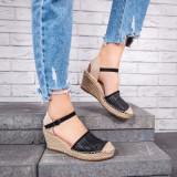 Sandale dama cu platforma dama Canifa