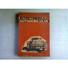INTRETINEREA AUTOMOBILULUI - GH. PITULESCU