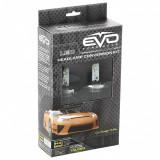 Bec LED H1 6000K, 12V/ 24V, set 2 buc, Kit conversie LED EVO Performance Kft Auto