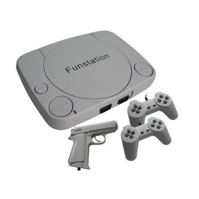 Consola pentru jocuri pe televizor New Slim FS1, 2 x controller foto