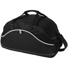 Geanta de umar, Everestus, BG, poliester si material netesut 80 g/m² polipropilena, negru, saculet si eticheta bagaj incluse