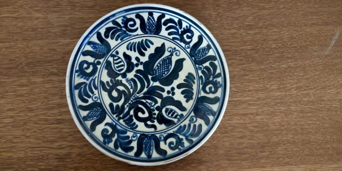 Farfurie Decorativa Lut Ceramica HandMade Arta