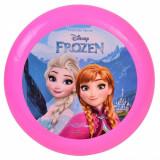 Disc zburator frisbee,model frozen, 22cm, roz