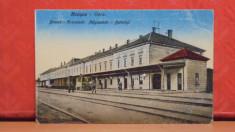 BRASOV - GARA - EDITATA INAINTE DE 1918, MODIFICATA DUPA - NECIRCULATA - foto