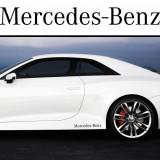 Sticker prag MERCEDES-BENZ (set 2 buc)