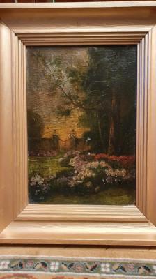 Foarte veche pictura - 1925 - semnata Marselek Endre foto