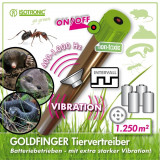 Cumpara ieftin Dispozitiv anti daunatori cu vibratii GoldFinger 70048
