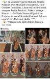 """Statuetă Figurină Bibelou Porțelan Arpo """" Muzicant Lăutar Cântăreț Taraf Etno """""""