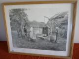 TABLOU FOTO 1903, 56/45 cm.