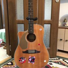 chitara electroacustica fender sonor mana stanga