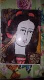 Pictura taraneasca pe sticla an1975/135pag+150ilustratii- - Dumitru Dancu
