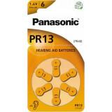 Baterii pentru proteze auditive Panasonic PR13 Zinc-Aer 6 Baterii