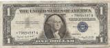 Statele Unite (SUA) 1 Dolar 1957 A - (Serie-★79654597) P-419