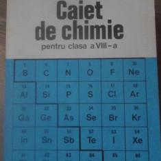 CAIET DE CHIMIE PENTRU CLASA A VIII-A - CORNELIA GHEORGHIU, CLAUDIA PANAIT