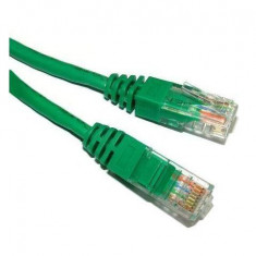 Patchcord Spacer UTP Cat5e 1m Green