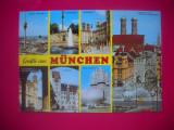 HOPCT  44225  MUNCHEN -KRUGER  GERMANIA -STAMPILOGRAFIE-CIRCULATA, Printata