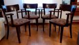 4 scaune tapitate anii '50 - 220 lei bucata
