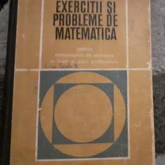 Gr. Gheba - Exercitii si probleme de matematica pentru admitere in liceu, 1969