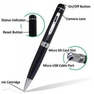 Camera spion profesionala ascunsa in pix HD Camcorder, maxim 32 Gb