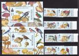 Mongolia 2003  fauna  pasari si ciuperci   MI 3439-46 + 2 bl.335, 336   MNH w56