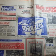 Magazin 15 februarie 1969-articol aeroportul otopeni si judetul satu mare