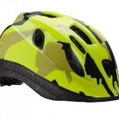 BBB Casca BHE 3733 Boogy camouflage galben neon M