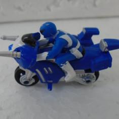 bnk jc  Mighty Morphin Power Rangers Micro - 1994 - albastru