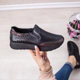 Pantofi sport Piele dama negri Nirvali