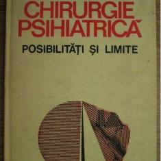 CHIRURGIE PSIHIATRICA POSIBILITATI SI LIMITE-LEON DANAILA 1988