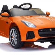 Masinuta electrica Jaguar F-Type 2, portocaliu