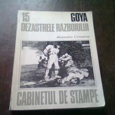 CABINETUL DE STAMPE. GOYA DEZASTRELE RAZBOIULUI - ALEXANDRU CERNATONI