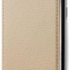 Husa Book Cover GUESS GUFLBKS8LIGLTGO pentru SAMSUNG Galaxy S8 Plus (Auriu)