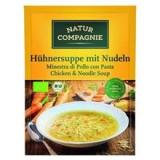 Supa Bio de Pui cu Taitei Natur Compagnie 40gr Cod: NC4659