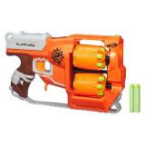 Lansator sageti Nerf Zombie Strike Flipfury, 12 gloante, 8 ani+