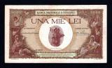 ROMANIA 1000 LEI - 1938 CU SUPRATIPAR ! Stare foarte buna !