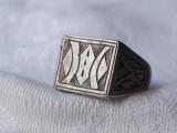 INEL argint TUAREG TRIBAL gravat manual VECHI vintage SPLENDID de efect RAR