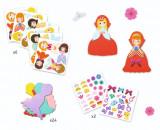 Set creativ Colaje cu fetru – Zâne, Djeco