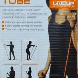 Coarda elastica cu manere Resistance Tube Liveup