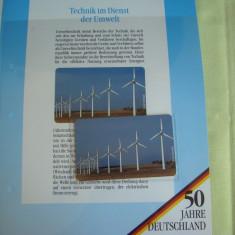 """3 Cartele Telefonice """"50 Jahre Deutschland"""" - Exponate NOI / 4"""