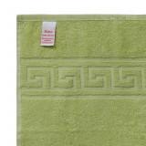 Cumpara ieftin Prosop de baie Bianca Cu Model Grecesc verde 70×140 cm