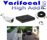 Cumpara ieftin Kit Supraveghere Video parcare auto 1 camera full hd 2 MP, varifocala 40m infrarosu, DVR 4 canale